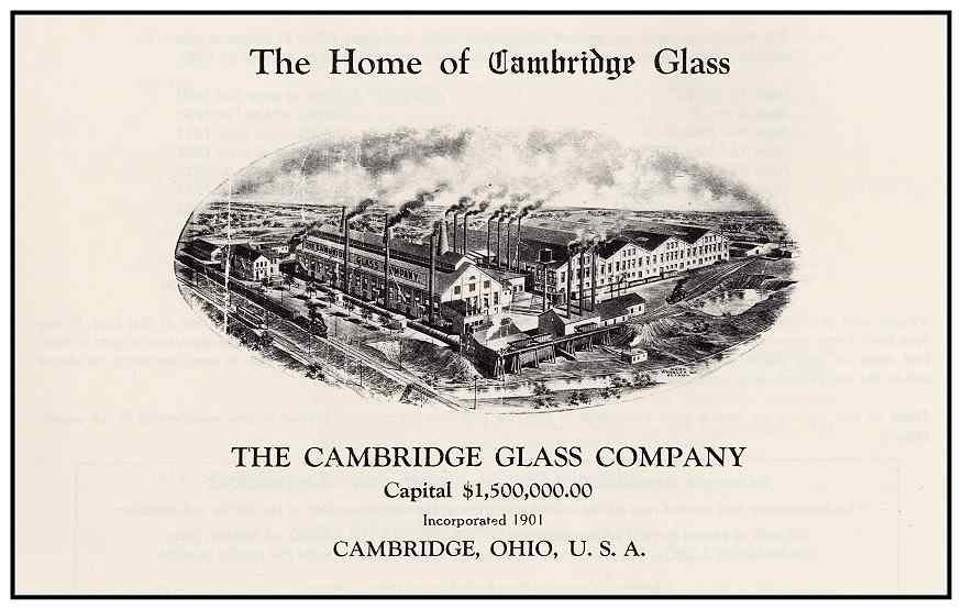 cambridge glass company - Cambridge Glass